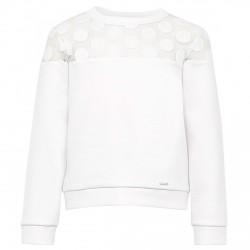 Sweatshirt Liu-Jo My Vernissage Girl white