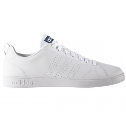 Sneakers Adidas VS Advantage Clean Homme blanc-bleu