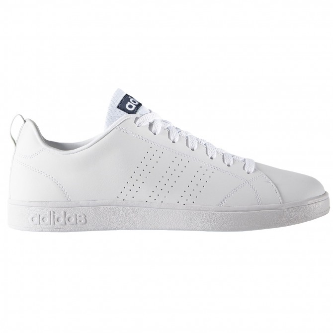 Sneakers Adidas VS Advantage Clean Uomo bianco-blu ADIDAS Scarpe sportive