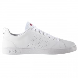 Sneakers Adidas VS Advantage Clean Woman white-red