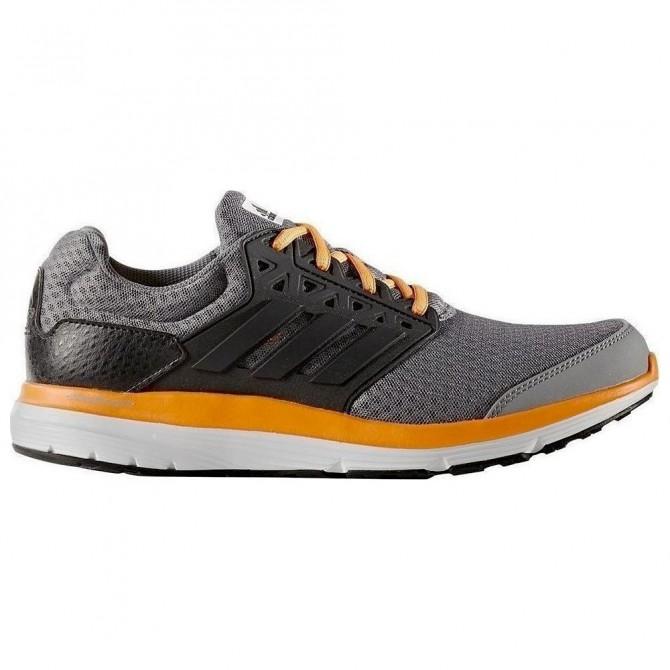 Scarpe running Adidas Galaxy 3.1 Uomo nero-arancione
