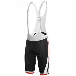Salopette cyclisme Zero Rh+ Agility Homme noir-blanc