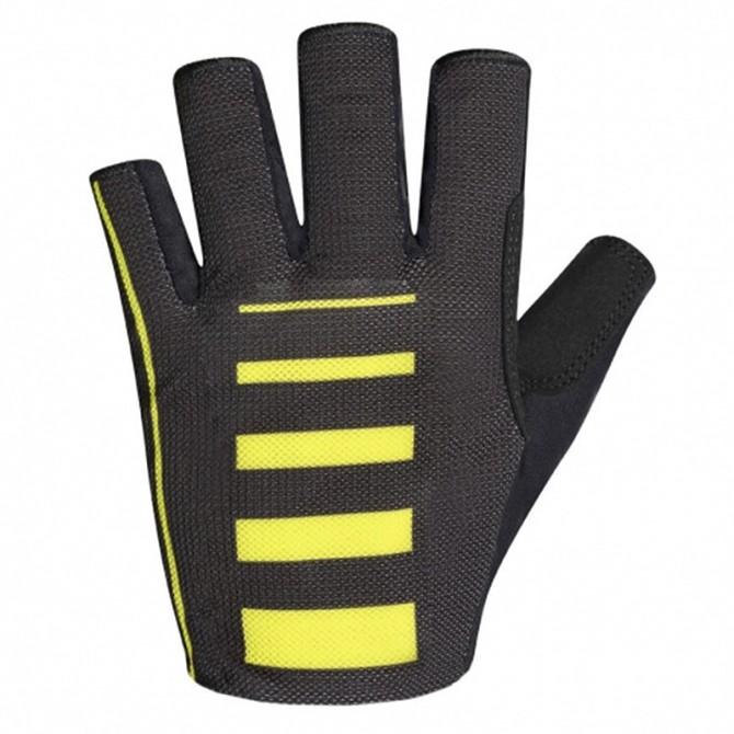 Gants cyclisme Zero Rh+ Speed noir-jaune