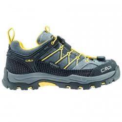 Chaussure trekking Cmp Rigel Low Junior gris-jaune (30-37)
