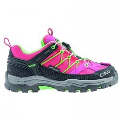 Trekking shoes Cmp Rigel Low Junior fuchsia-green (28-37)