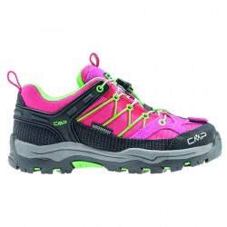 Zapato trekking Cmp Rigel Low Junior fucsia-verde (28-37)