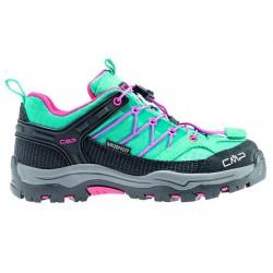 Trekking shoes Cmp Rigel Low Junior green-fuchsia (30-37)