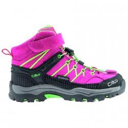 Zapato trekking Cmp Rigel Mid Junior fucsia-verde (25-27)