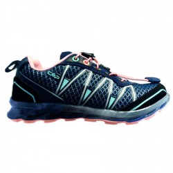 Zapato trail running Atlas Junior azul-rosa (25-32)