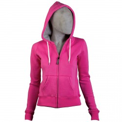 Sweat-shirt Podhio Fille fuchsia