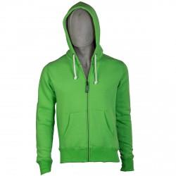 Sweat-shirt Podhio Homme vert