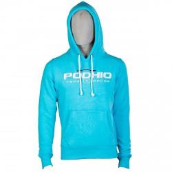 Sweat-shirt Podhio Homme turquoise