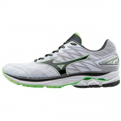 Running shoes Mizuno Wave Rider 20 Man white-green