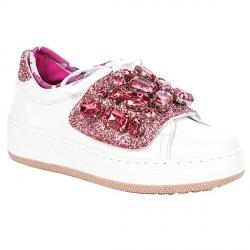 Sneakers Dor DOR 04 VP Donna bianco-rosa