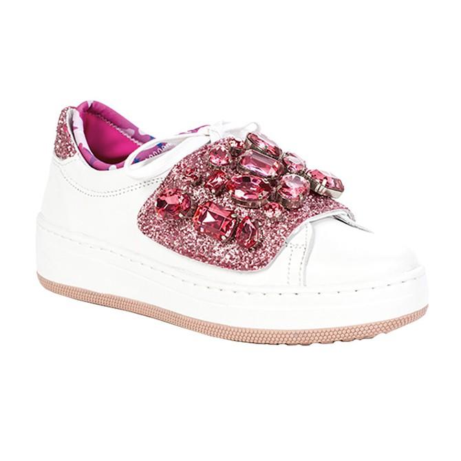 Sneakers Dor DOR 04 VP Mujer blanco-rosa