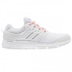 Chaussures running Adidas Galaxy 3 Femme blanc-rose
