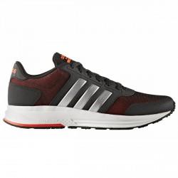 Zapatillas Adidas Cloudfoam Saturn Hombre negro-rojo