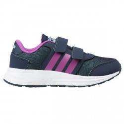 Scarpe ginnastica Adidas Cloudfoam Saturn Cmf C Bambina blu-viola