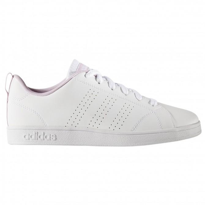 Sneakers Adidas VS Advantage Clean Bambina bianco-rosa ADIDAS Scarpe moda