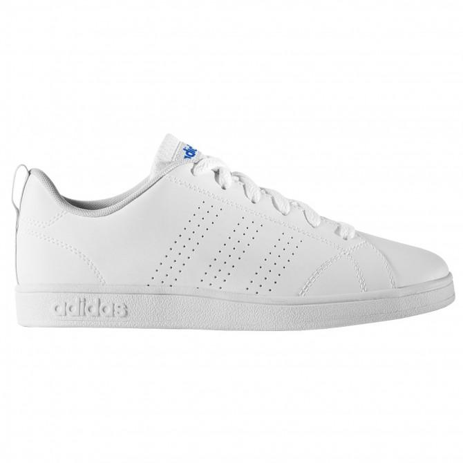 Sneakers Adidas VS Advantage Clean Bambino bianco-blu ADIDAS Scarpe moda
