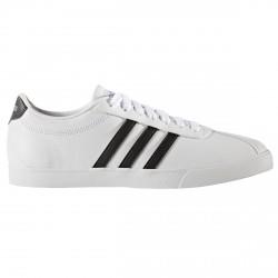 Sneakers Adidas Courtset Femme blanc-noir