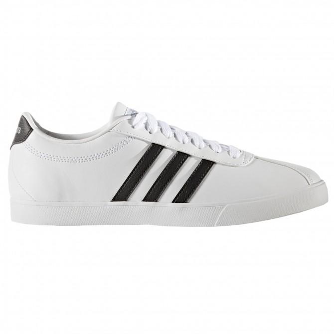 Sneakers Adidas Courtset Donna bianco-nero ADIDAS Scarpe moda