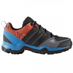 Zapatillas trekking Adidas Ax2 Climaproof Niño negro-royal