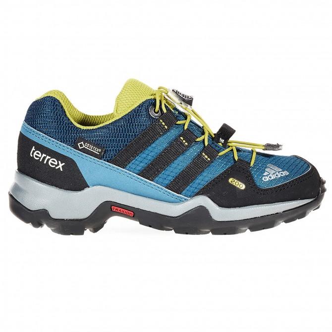 Pedule trekking Adidas Terrex Gtx Bambino blu-nero ADIDAS Trekking Basse