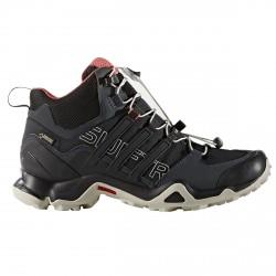 Zapatillas trekking Adidas Terrex Swift Gtx Mid Mujer negro-blanco