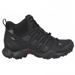 Chaussures trekking Adidas Terrex Swift Gtx Mid Homme noir