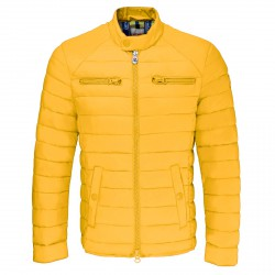 Chaqueta de pluma Invicta Biker Hombre amarillo