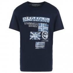 T-shirt Napapijri Sepik Uomo blu