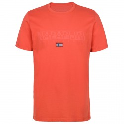 T-shirt Napapijri Sapriol Uomo arancione
