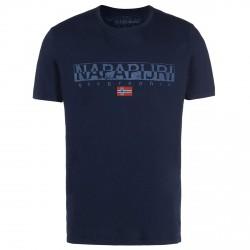 T-shirt Napapijri Sapriol Uomo blu