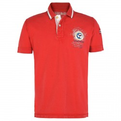 Polo Napapijri Gandy Homme rouge