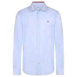 Camisa Napapijri Guyamas Hombre azul claro