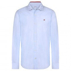 Shirt Napapijri Guyamas Man light blue