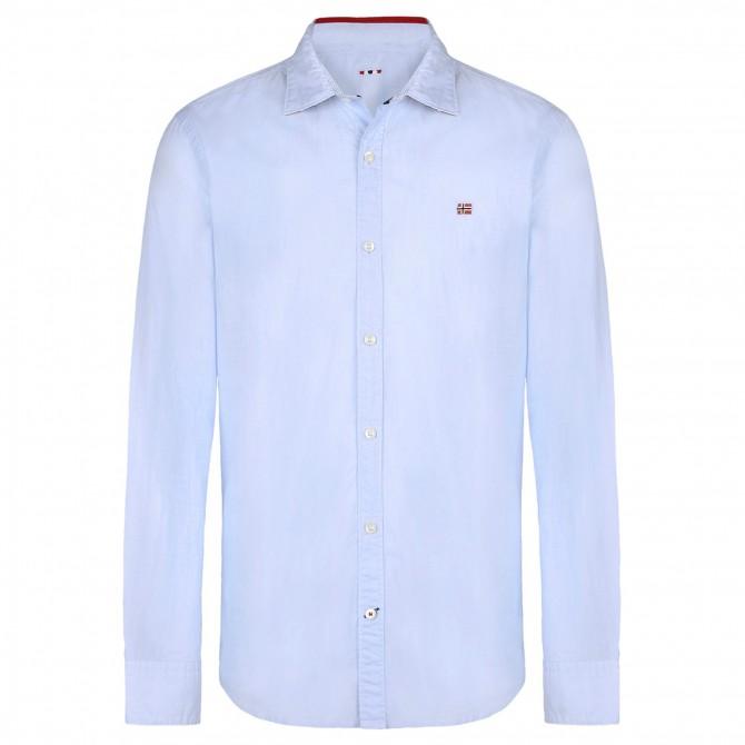 Shirt Napapijri Guyamas Man light blue