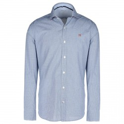 Camisa Napapijri Guyamas Hombre blanco-azul