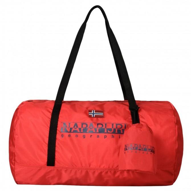 Borsone Napapijri Bering Gym rosso