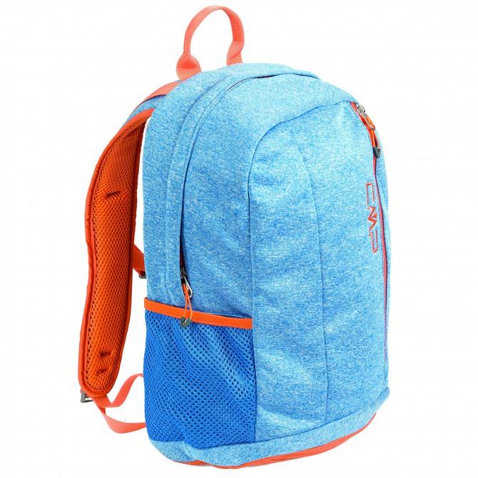 Zaino trekking Cmp Rebello azzurro melange-arancio