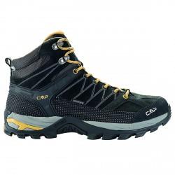 Zapato trekking Cmp Rigel Mid Hombre gris-naranja