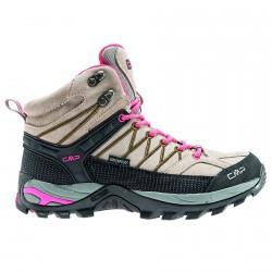 Zapato trekking Cmp Rigel Mid Mujer beige