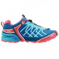 Chaussures trail running Cmp Super X Homme bleu-rouge
