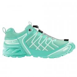 Chaussures trail running Cmp Super X Femme vert eau