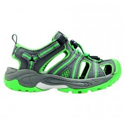 Sandalo Cmp Kids Aquarii Hiking Junior grigio-verde