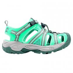 Sandalo Cmp Kids Aquarii Hiking Junior verde acqua