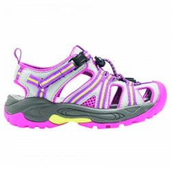 Sandalo Cmp Kids Aquarii Hiking Junior grigio-fucsia
