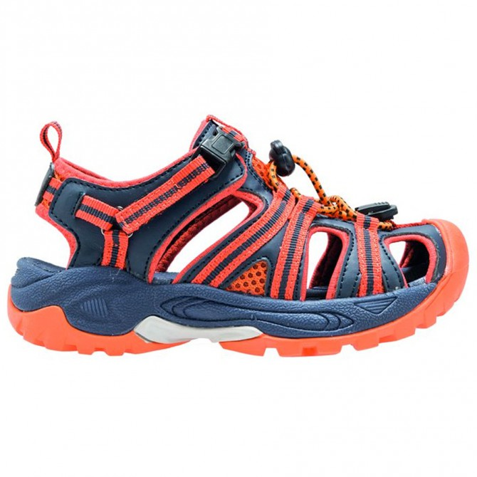 Sándalo Cmp Kids Aquarii Hiking Junior azul-naranja