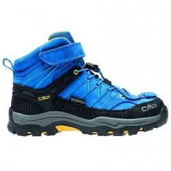 Zapato trekking Cmp Rigel Mid Junior royal-amarillo (38-41)
